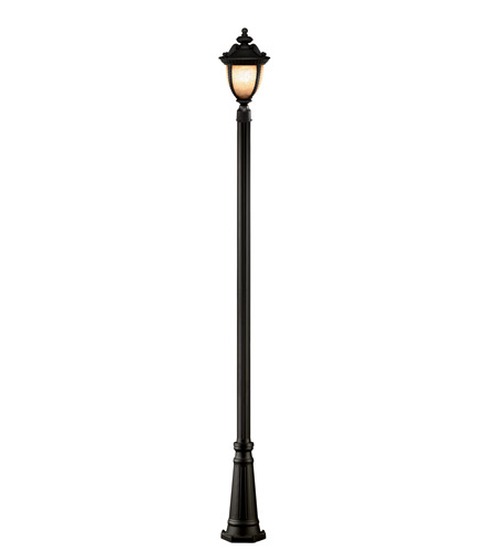 Z-Lite Winchester 3 Light Outdoor Post Light in Black 2141PHB-519P-BK photo