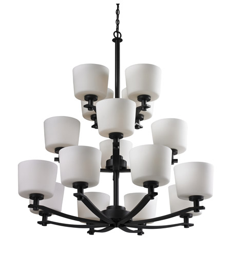 Z-Lite Arlington 16 Light Chandelier in Oil Rubbed Bronze 220-16 photo