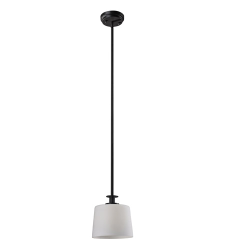 Z-Lite Arlington 1 Light Mini Pendant in Oil Rubbed Bronze 220MP photo