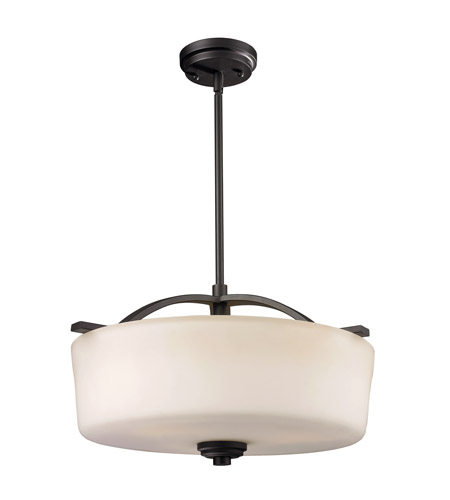 Z-Lite Arlington 3 Light Pendant in Oil Rubbed Bronze 220P photo