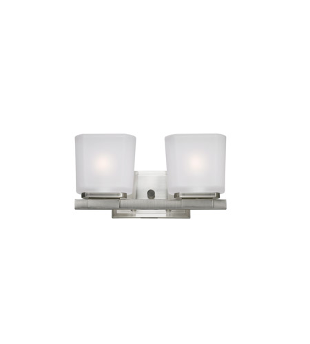 Z-Lite Agra 2 Light Vanity in Brushed Nickel 3002-2V photo