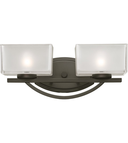 Z-Lite Cardine 2 Light Vanity in Painted Bronze 3006-2V photo