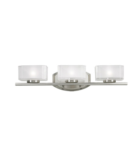 Z-Lite Cabro 3 Light Vanity in Brushed Nickel 3007-3V photo
