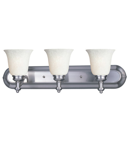 Z-Lite Hollywood 3 Light Vanity in Brushed Nickel 301-3V-BN-WM6 photo