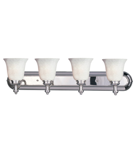 Z-Lite Hollywood 4 Light Vanity in Chrome 301-4V-CH-WM6 photo