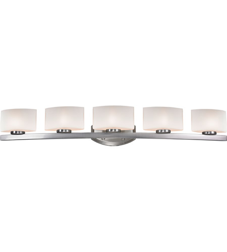 Z-Lite 3013-5V Galati 5 Light 41 inch Brushed Nickel Vanity Light Wall Light in G9 photo