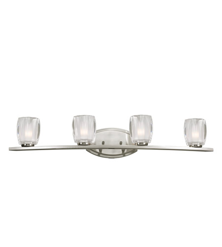 Z-Lite Haan 4 Light Vanity in Brushed Nickel 3017-4V photo