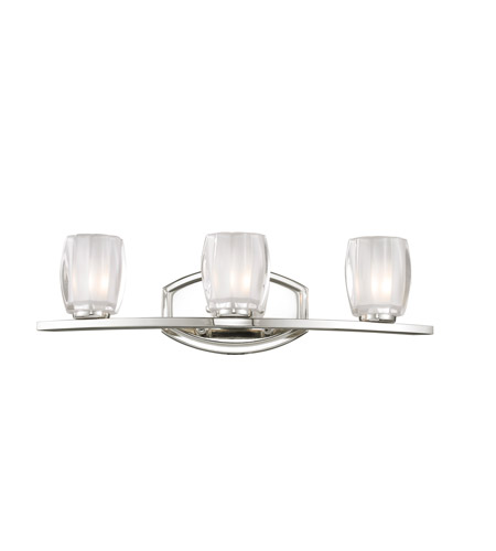 Z-Lite Haan 3 Light Vanity in Chrome 3018-3V photo
