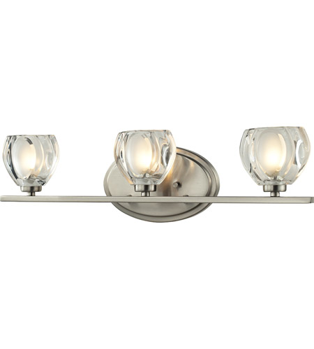 Z-Lite 3022-3V-LED Hale LED 21 inch Brushed Nickel Vanity Wall Light in 3 photo