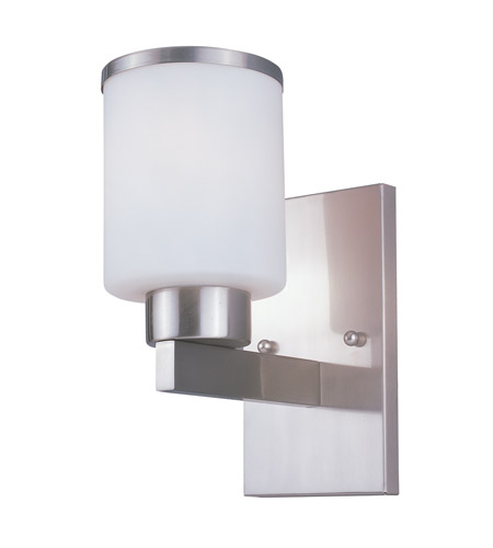 Z-Lite Cosmopolitan 1 Light Wall Sconce in Brushed Nickel 312-1S-BN photo