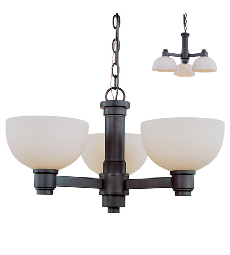 Z-Lite 314-3C-BRZ Chelsey 3 Light 23 inch Bronze Chandelier Ceiling Light photo