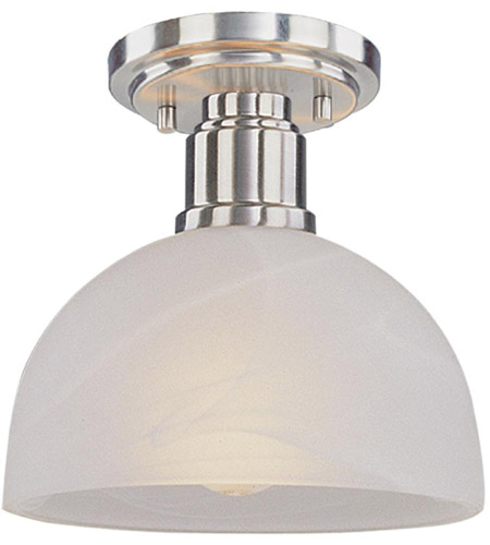 Z-Lite 314F-BN Chelsey 1 Light 8 inch Brushed Nickel Flush Mount Ceiling Light photo