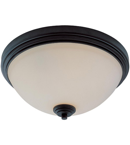 Z-Lite Chelsey 3 Light Flush Mount in Dark Bronze 314F3-BRZ photo