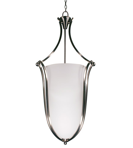 Z-Lite Carlisle 6 Light Foyer Pendant in Brushed Nickel 316P-43 photo