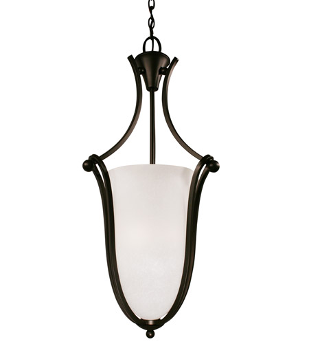 Z-Lite Carlisle 3 Light Foyer Pendant in Bronze 317P-32 photo