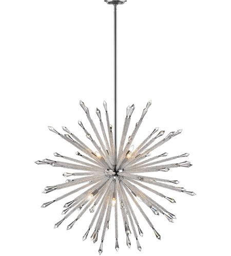 Z Lite 4002 12 Soleia Light 47 Inch Chrome Chandelier Ceiling