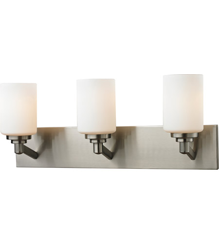 Steel Montego Bathroom Vanity Lights
