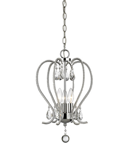 Z lite 429 3 ch serenade 3 light 13 inch chrome mini chandelier z lite 429 3 ch serenade 3 light 13 inch chrome mini chandelier ceiling light aloadofball Images