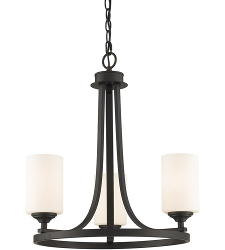 Z-Lite 435-3BRZ Bordeaux 3 Light 19 inch Bronze Chandelier Ceiling Light photo