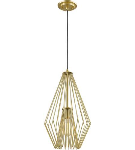 Z Lite 442mp12 Mg Quintus 1 Light 12 Inch Metallic Gold Mini Pendant Ceiling