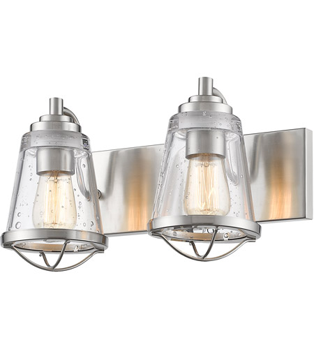 Z-Lite 444-2V-BN Mariner 2 Light 16 inch Brushed Nickel Vanity Wall Light photo