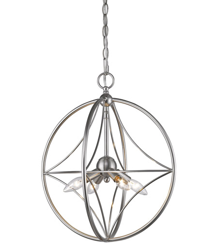 Z-Lite 452-16BN Cortez 4 Light 16 inch Brushed Nickel Pendant Ceiling Light in 16.00 photo