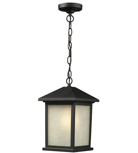 Z-Lite Black Aluminum Outdoor Ceiling Lights
