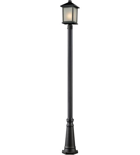 Z-Lite Holbrook 1 Light Outdoor Post Light in Black 507PHB-519P-BK photo