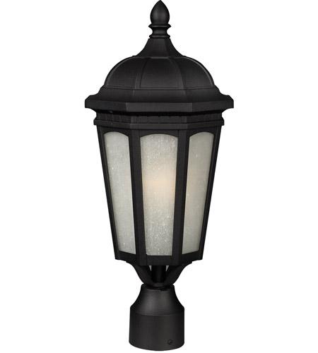 Z-Lite Newport 1 Light Outdoor Post Light in Black 508PHM-BK photo