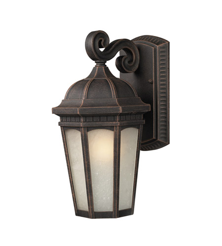 Z-Lite Newport 1 Light Outdoor Wall Light in Antique Bronze 508S-ABR photo