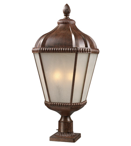 Z-Lite Waverly 4 Light Post Light in Weathered Bronze 513PHB-WB-PM photo