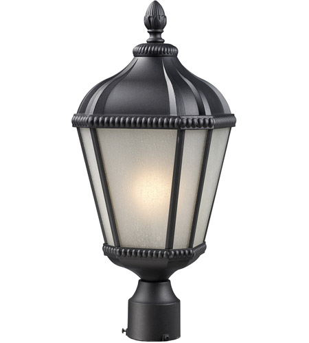 Z-Lite 513PHS-BK Waverly 1 Light 23 inch Black Post Light photo