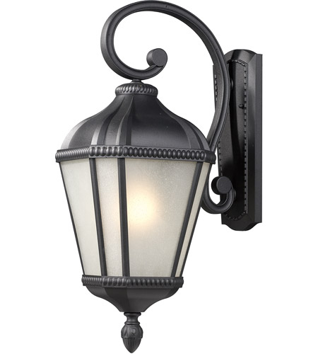 Z-Lite 513S-BK Waverly 1 Light 23 inch Black Outdoor Wall Sconce photo