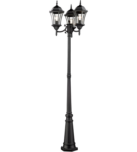 Z-Lite Black Wakefield Post Lights
