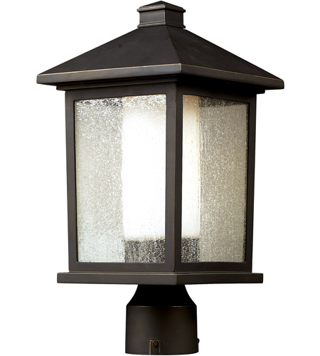 Z-Lite 524PHM Mesa 1 Light 16 inch Oil Rubbed Bronze Outdoor Post photo