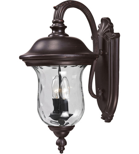 Z-Lite 534M-RBRZ Armstrong 2 Light 20 inch Bronze Outdoor Wall Sconce photo