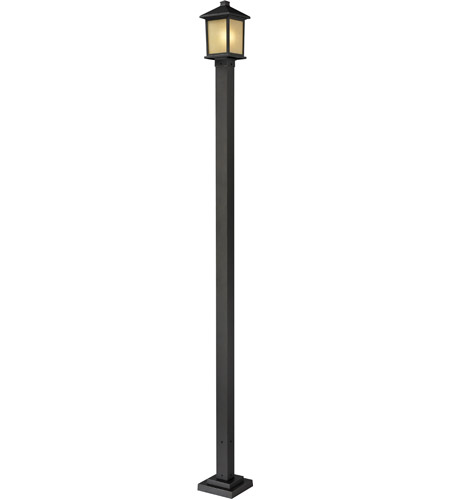 Z-Lite 537PHM-536P-ORB Holbrook 1 Light 109 inch Oil Rubbed Bronze Outdoor Post photo
