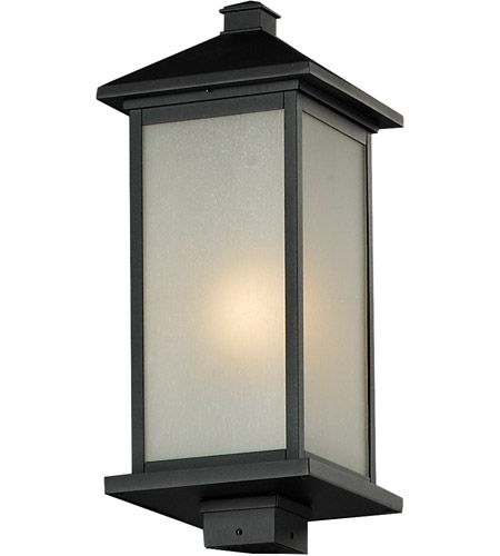 Z-Lite Black Vienna Post Lights