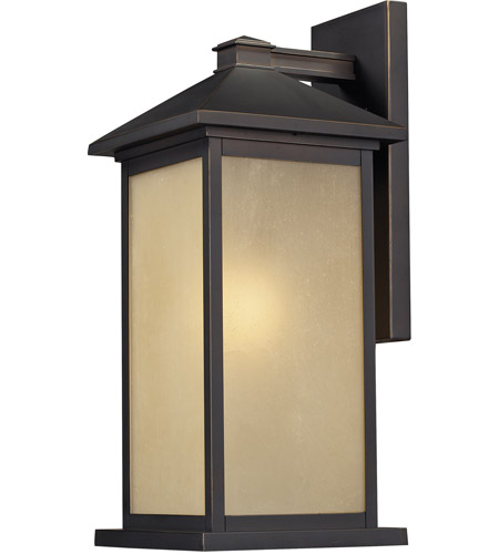 Z-Lite 548M-ORB Vienna 1 Light 18 inch Oil Rubbed Bronze Outdoor Wall Sconce photo
