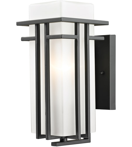 Z-Lite 550S-ORBZ Abbey 1 Light 12 inch Outdoor Rubbed Bronze Outdoor Wall Sconce photo