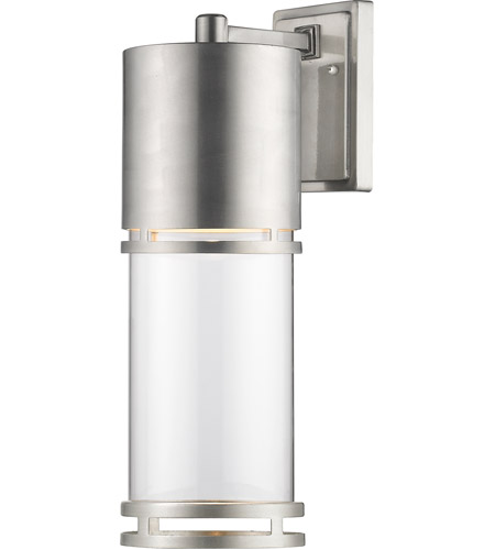 Z-Lite 553B-BA-LED Luminata LED 18 inch Brushed Aluminum Outdoor Wall Sconce photo