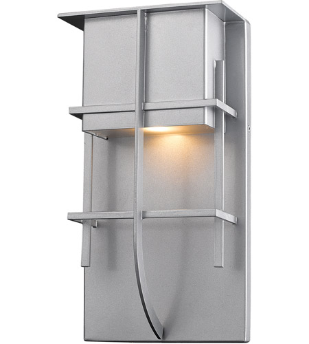 Z-Lite 558B-SL-LED Stillwater LED 19 inch Silver Outdoor Wall Sconce photo