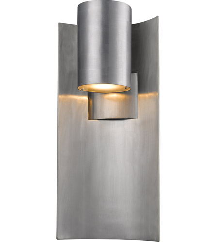 Z-Lite 559B-SL-LED Amador LED 19 inch Silver Outdoor Wall Sconce photo