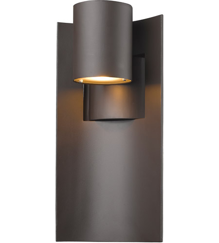 Z-Lite 559M-DBZ-LED Amador LED 15 inch Deep Bronze Outdoor Wall Sconce in Depp Bronze photo