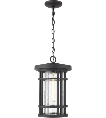 Z-Lite 570CHB-BK Jordan 1 Light 10 inch Black Outdoor Pendant photo