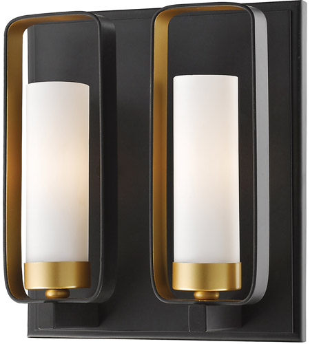 Z-Lite Bronze Gold Wall Sconces