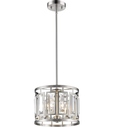 Z-Lite Brushed Nickel Mersesse Pendants