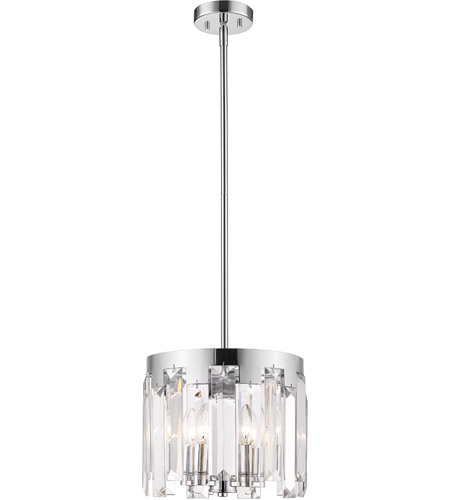 Z-Lite Chrome Steel Cormac Chandeliers