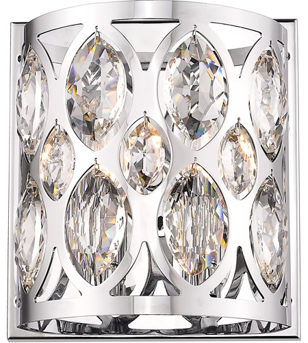 Z-Lite 6010-2S-CH Dealey 2 Light 9 inch Chrome Wall Sconce Wall Light photo