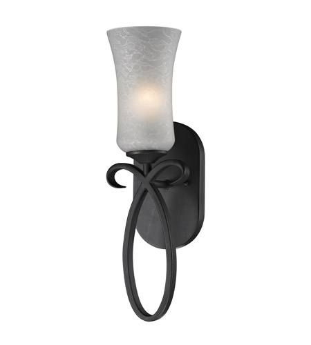 Z-Lite Arshe 1 Light Wall Sconce in Cafe Bronze 603-1S photo